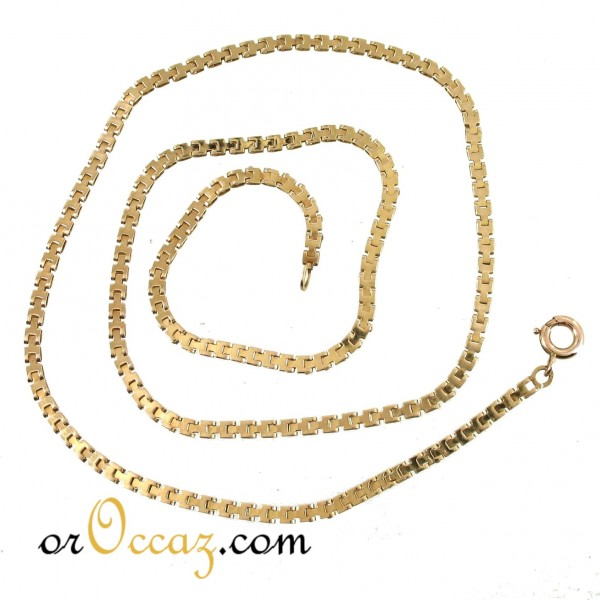 Collier maille agrafe
