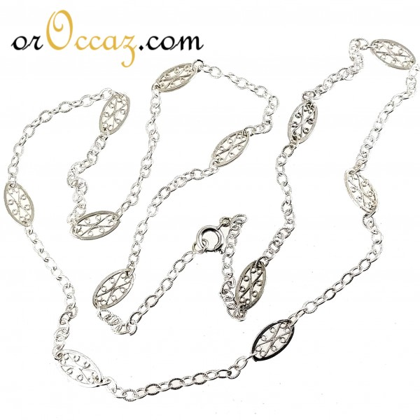 Collier filigrane