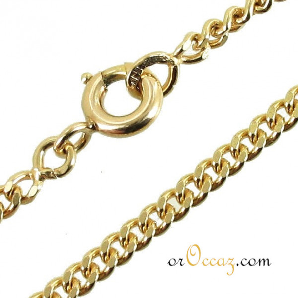 Collier maille gourmette