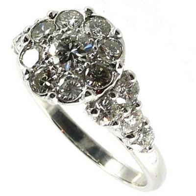 acheter populaire 86f2e be1f5 BIJOUX D OCCASION-OROCCAZ: Bague diamants.