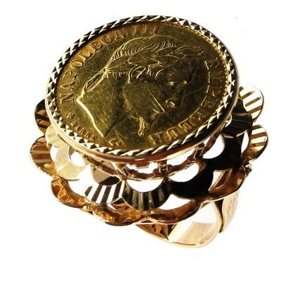 Bijoux D Occasion Oroccaz Bague Porte Piece 10 Francs
